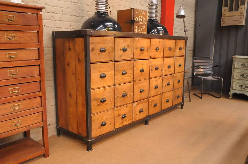 The industrial furniture contact us for Meubles industriels pas chers